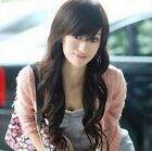 60-65CM New Hot Women Long 50% synthetic Hair Full Wig Curly Bang Wigs PO181