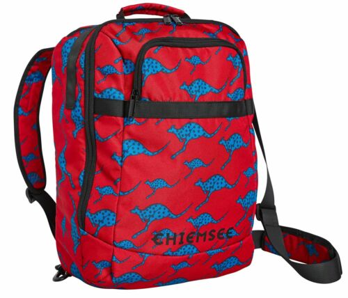 Dos À Travel Red Chiemsee Dark Sac Messenger qHBxEwURp