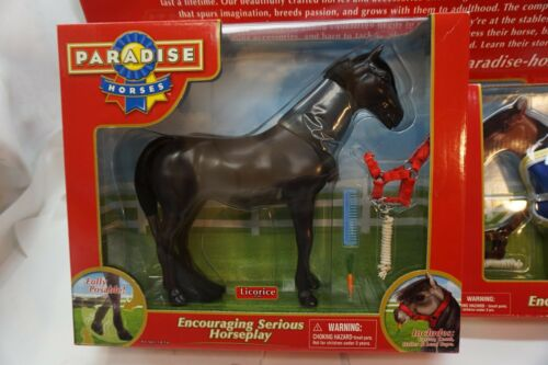 TOY HORSE POSEABLE FIGURE ARABIAN LOT 2 ACCESSORIES BLANKET 8in PRETEND PLAY NEW