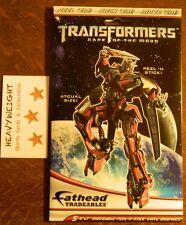 "TRANSFORMERS ""DARK OF THE MOON"" FATHEAD TRADEABLES (5) 5x7 PEEL N STICK GRAPHICS"