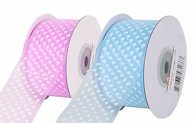 Mother/'s Day special 10mm Spotty POLKA DOT SATIN Ribbon 10m