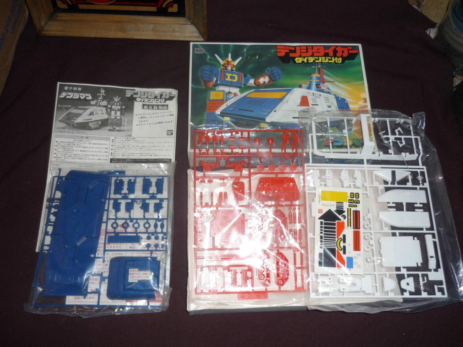 RARE Vintage Vintage Vintage 1980 Bandai GoDaikin Daidenjin Model Kit UNUSED COMPLETE FROM JAPAN 613c41