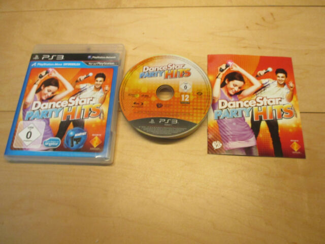 PS3 DanceStar Party Hits (Sony PlayStation 3, 2012) TOP OVP Komplett 1-2 Spieler