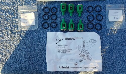 KRANZLE 125 135 155 VALVE KIT K417481  PRESSURE WASHER DETAILINGWORLD JETWASH