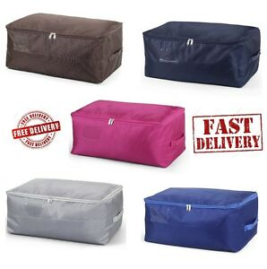 Image Is Loading Under Bed Storage Bag Box Container Clothes Home