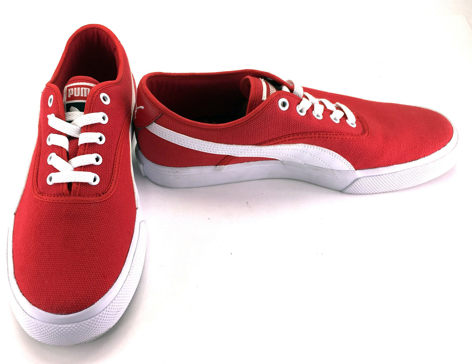 Puma Shoes El Loch Red/White  Size 7.5