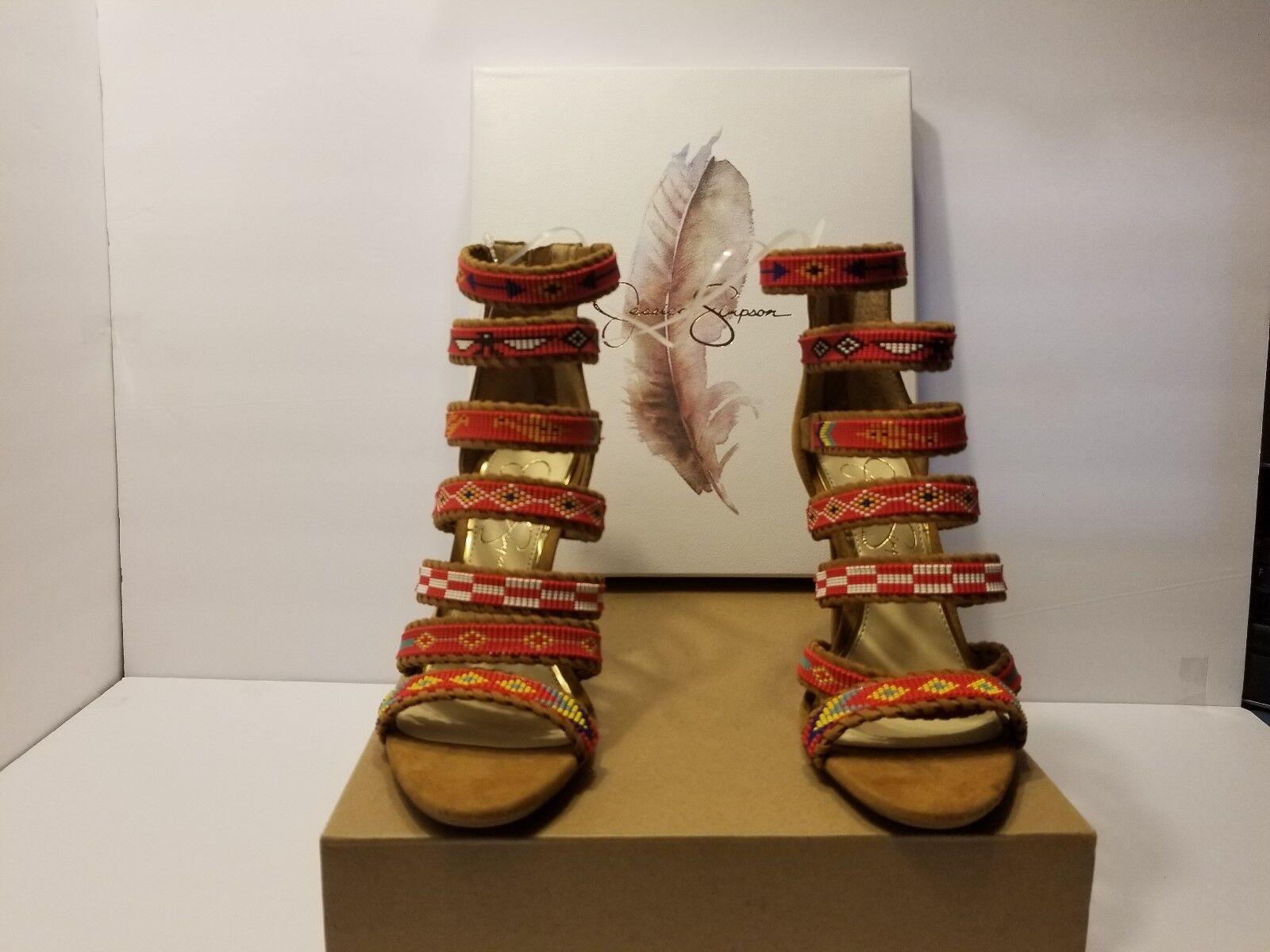 Jessica Simpson Embellished Dress Sandals