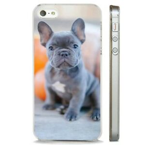 Cute Puppy French Bulldog Clear Phone Case Cover Fits Iphone 5 6 7 8