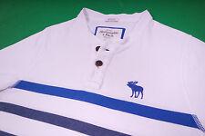 Abercrombie & Fitch Herren T-Shirt Weiß Größe S
