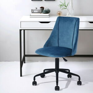 Home Office Chair Computer Chair Ergonomic Modern Comfortable Mid Back Blue Best Ebay