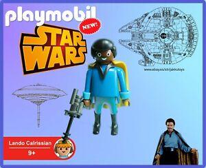 PLAYMOBIL-Star-Wars-Lando-Calrissian-100-Playmobil-NEW-No-Box-Sin-Caja
