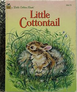 Save-5-off-4-or-more-Little-Cottontail-Little-Golden-Book-Free-US-Ship