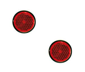 2 X Cataphotes Monark / Réflecteur Rétro Rond Ø 62 Mm Pour Magirus Camion Bus Rtoptuwk-08005959-173506645