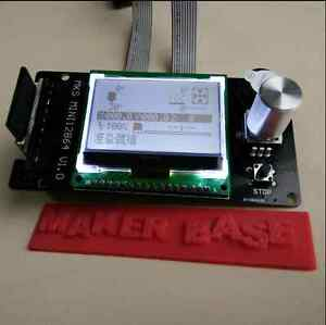 3D printer MKS MINI LCD12864 controller marlin SD card inserted side version