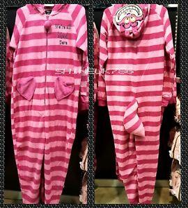 nouvelle arrivee b320b c4261 Détails sur Disney Cheshire Cat Femmes à Capuche Tout en Un Combinaison  onesuit Nightwear Primark- afficher le titre d'origine