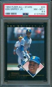 1d79b7ac69 1992 Fleer Baseball All Stars KEN GRIFFEY JR. Seattle Mariners #23 ...