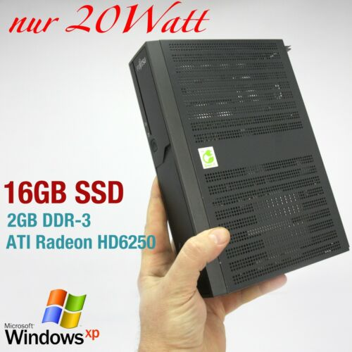 MINI COMPUTER FUJITSU FOR WINDOWS XP 16GB SSD 2GB DDR3 RS 232 ATI HD6250 QUAKE