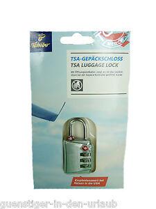 competitive price great fit hot sales Details zu TCM Tchibo TSA Gepäckschloss Kofferschloss Koffer Schloss NEU