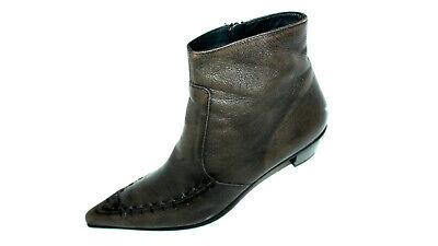 PAUL GREEN dunkelbraune Cowboy Stiefeletten Damen Schuhe 40,5 UK 7 spitz Leder   eBay