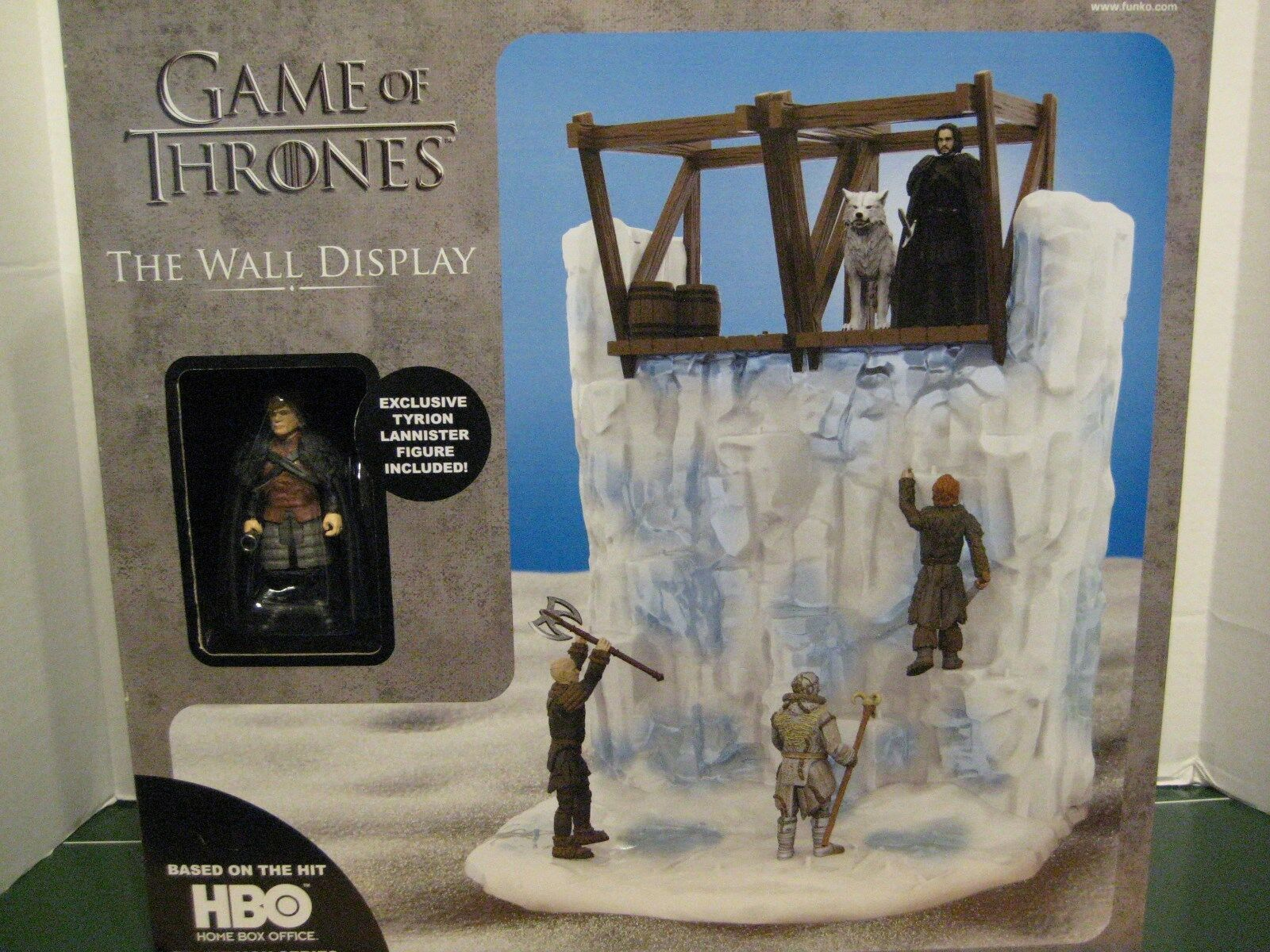 Game of Thrones The Wall Display with Exclusive Tyrion Lanister Figure