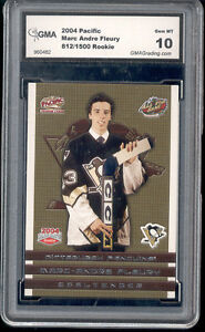 2003-04-Marc-Andre-Fleury-Pacific-Rookie-Gem-Mint-10-ed-to-1500