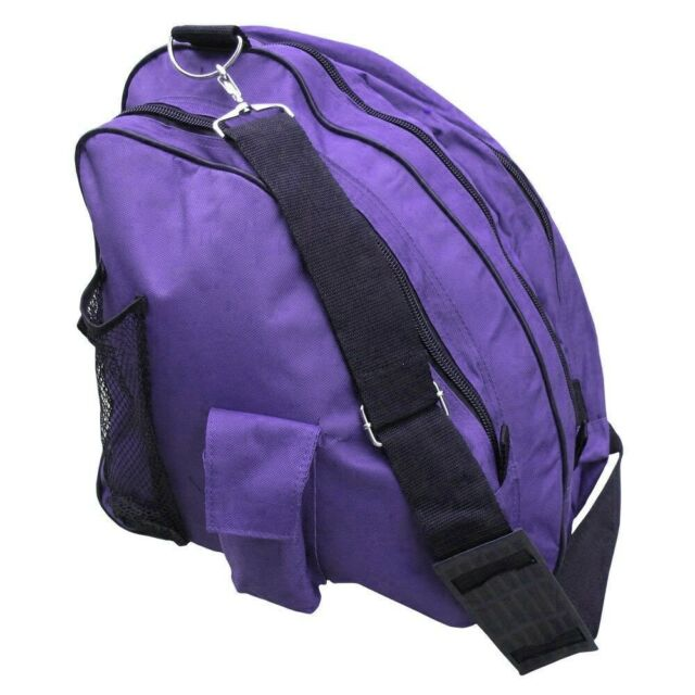 A/&R Deluxe Ice Figure Skate Carry Bag Roller Blade In Line Bag Purple-6 2-Pack
