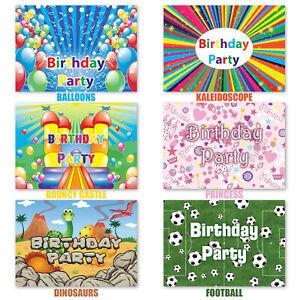 20x-Kids-Childrens-Birthday-Boys-Girls-Daughter-Son-Party-Invites-Invitations