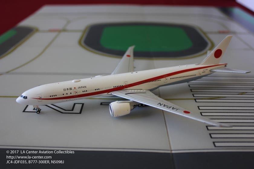 Jc Wing Japón Self Defense Force Boeing 777-300ER Vip Diecast Modelo 1 400