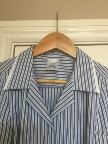 BNWT Alexandra H350 Women/'s Very Smart Tunic In Grey And Blue Stripes Size 14