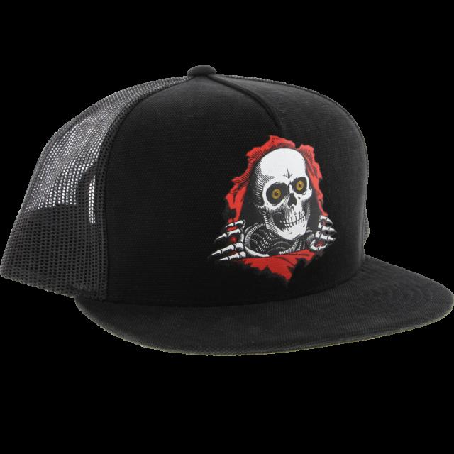 Powell Peralta OVAL DRAGON Snapback Skateboard Hat RED