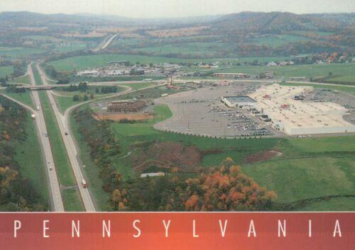 University PA Interstate 80 Aerial View of Bloomsburg Postcard Pennsylvania