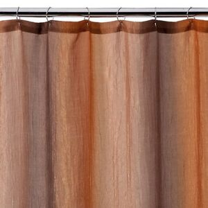 Ombre Print Shower Curtain Brown Gold EBay