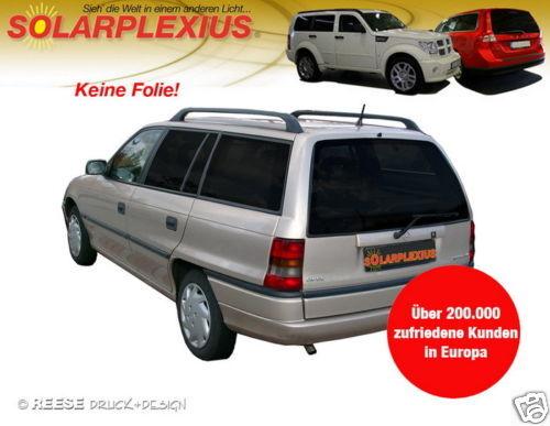 Auto Sonnenschutz Scheiben-Tönung-tönen Sihtschutz  OPEL ASTRA F Caravan-Kombi