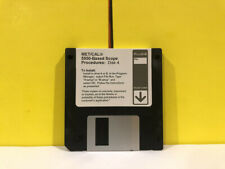 Fluke Metcal 5500 Based Scope Disk 4 Floppy Disk Software