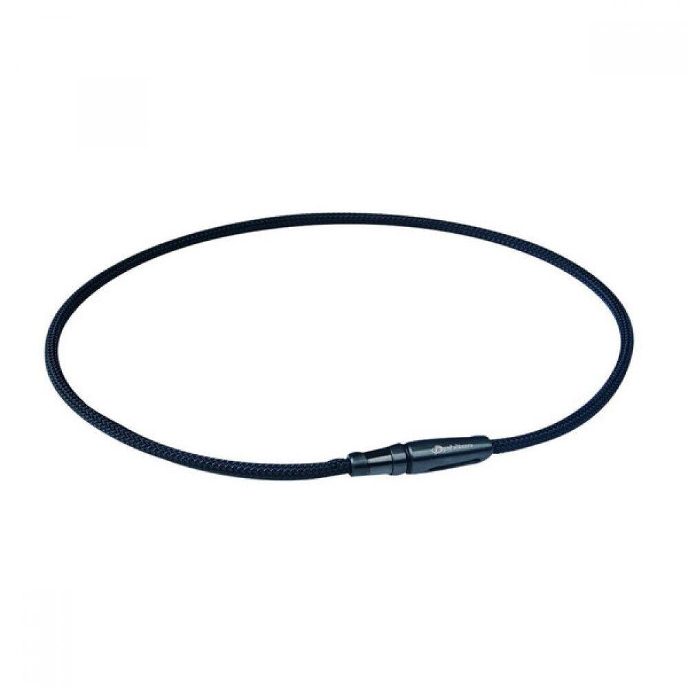 Phiten Rakuwa Cuello X 100 Correa Modelo Negro 50cm Tg230153 con Tracking Japan