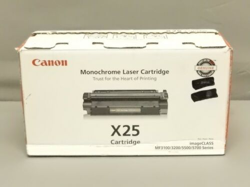 Canon X25 Black Toner Cartridge 8489A001BA imageCLASS 5700 Genuine New Open Box