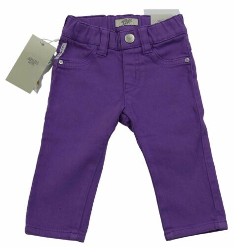 Armani Junior Filles Violet Jeggings 100% authentique LUXE Sz 2 yrs94cm BNWT afficher le titre d'origine