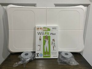 Nintendo Wii Fit Plus Board And Game - GREAT Condition