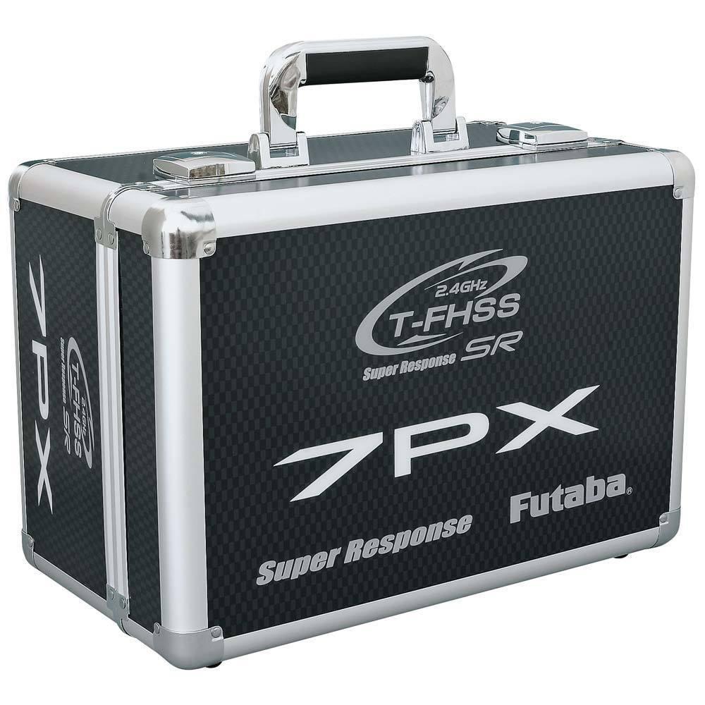 Futaba rc ferngesteuert sender tx schwer auf koffer  t7px 7px
