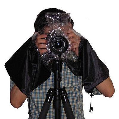 Rain Cover Raincoat Waterproof Dust Protector For SLR Digital Camera Protect