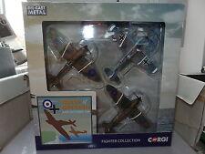 Corgi CS90691 Battle Britain 75th Fighters Spitfire Hurricane and Messerschmitt