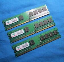 3GB (3x1GB) SIS SLY2128M8-J6E 667MHz DDR2 Desktop Memory Kit