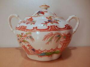 Zuccheriera-XIX-19-siecle-servizio-te-porcellana-inglese-Allertons-decoro-Minton