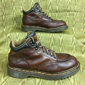 048840c2e4557 Details about vintage DR MARTENS Made in England Air Wair 8060 brown work  boot UK5 women's 7