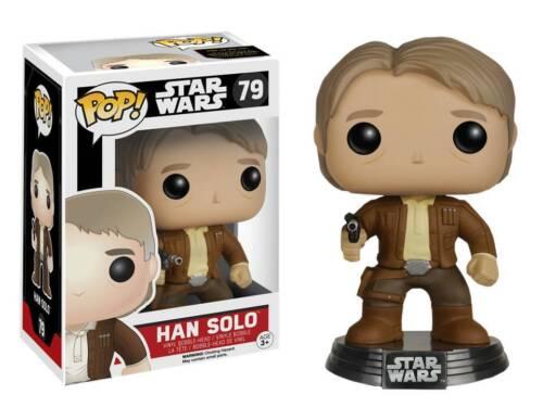 Figura vinile Han Solo Star Wars VII Pop Funko bobble-head Vinyl figure n° 79