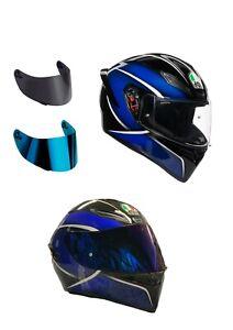 casco-moto-agv-k1-qualify-blu-visiera-specchio-visiera-fume-039-trasparente