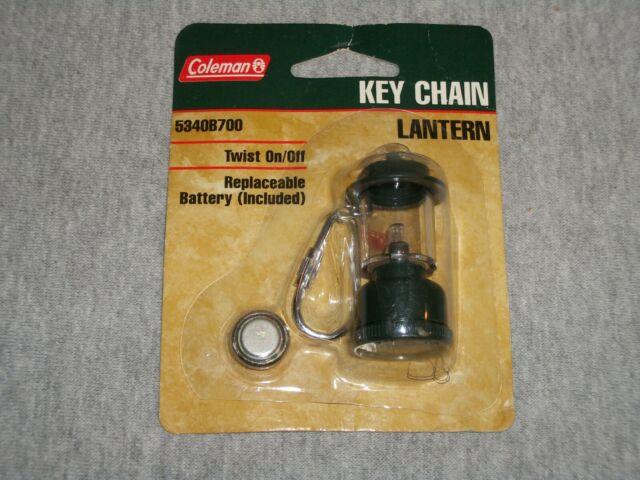 Collectible Green Coleman Gas Lantern Key Chain
