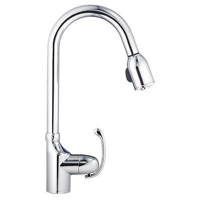 Practical Single-Handle Pull-Out Sprayer Kitchen Faucet