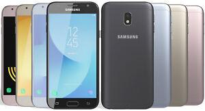 Nouveau-Samsung-Galaxy-J3-2017-SM-J330F-16-Go-Debloque-4-G-LTE-13MP-Or-Bleu-Noir