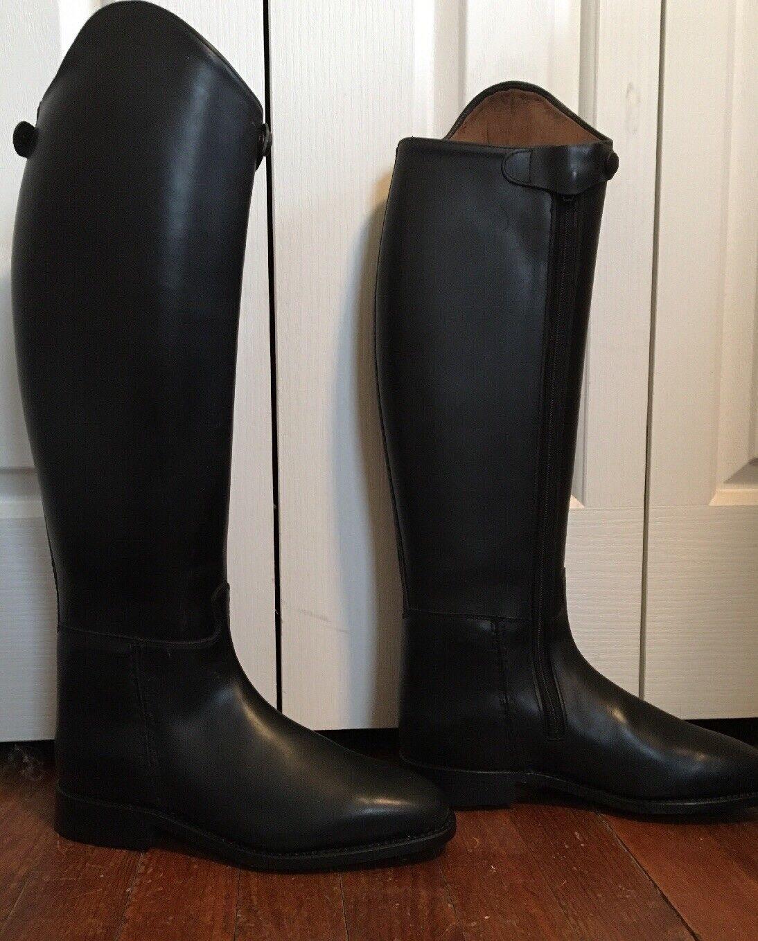 New Womans Dressage Boots W  Zippers Piaffe Plus Cavallo EU size. 5.5 US size 8